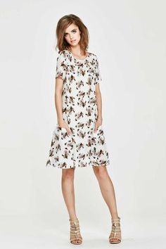 Swirls Aloud Dress – Designer Clothing Gallery | Women's Online Designer Clothing