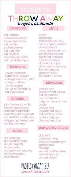 things-to-throw-away-recycle-donate-organization.jpg 819×2 048 pixels