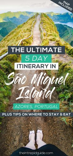 5 Day Azores Itinerary: 26 Top Things to Do in São Miguel Island [Plus Map] – The Intrepid Guide Europe Travel Tips, European Travel, Places To Travel, Places To See, Travel Destinations, Travel Guide, Travel Ideas, Travel Hacks, Travel Packing