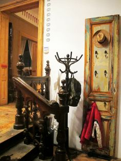 #restaurant #bucharest La Copac,restaurant in Bucharest, Romania, designer Mihai Grama Romania, The Good Place, Cozy, Interior Design, Nice, Places, Painting, Travel Set, Coffee Shops