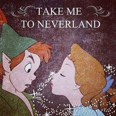 {Peter Pan} Take Me To Neverland #PeterPan #JMBarrie #Neverland