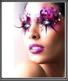 Visalli Moda Casa: Fairy makeup ideas...