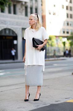 Chan Luu Sequin Skirt Top Los Angeles Blogger