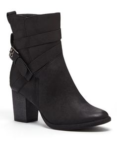 Another great find on #zulily! Black Charlee Ankle Boot by Bucco #zulilyfinds