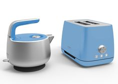 Marc Newson has designed a matching kettle and toaster for Sunbeam.