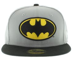 Batman snapback...but with only the front panel white and the rest black.