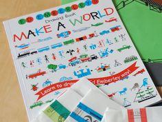 Make A World - Ed Emberley -zeichnen Schritt für Schritt mit wenigen Formen