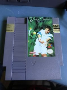 Vintage Nintendo NES Jimmy Connors Tennis Game