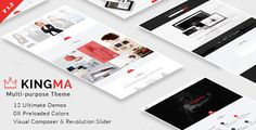 KingMa | Creative Business Onepage & MultiPage Theme . This theme is Empowered by the Latest Advancements in HTML5 & CSS3 Animations to provide you with first class User Experience. It also comes with a Working Ajax Contact