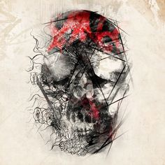 Negative Skull | by Art By Doc