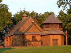 Oldest Wooden church of Lithuania located in Paluse, Lithuania. It was constructed in 1750 without the use of nails, saws or axes and is considered to be the oldest surviving wooden church in Lithuania.