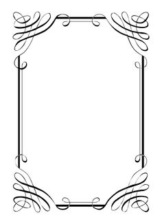 borders for invitations Free Vintage Clip Art: Calligraphic Frames . - borders for invitations Free vintage clip art: Calligraphic Frames and … – # - Free Printable Clip Art, Printable Border, Printable Frames, Printable Vintage, Vintage Clipart, Clip Art Vintage, Vintage Wine, Vintage Heart, Free Invitation Templates
