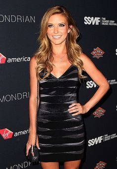 Audrina Patridge in dress by DALIA MACPHEE