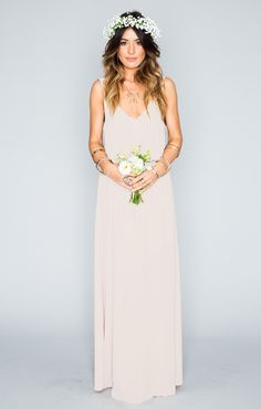 showmeyourmumu.com // KENDALL MAXI DRESS ~ SHOW ME THE RING CRISP $158.00 | Kendra or Andrea, one of you needs this dress!