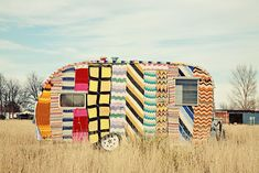 knit covered trailer
