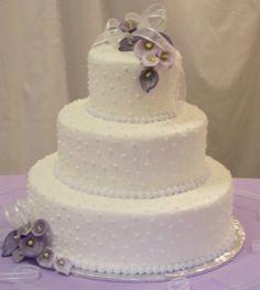 Pearled cake