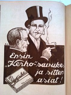 """Ensin """"Kerho""""-savuke ja sitten asiat!"""