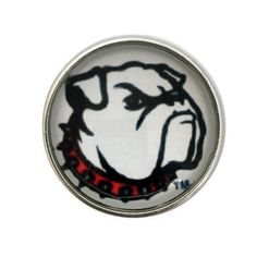 S-2031 Bull Dog Snap 20mm for Ginger Snap-Noosa Snap-Chunk Snap Charm Jewelry by SimpleEleganceCole on Etsy