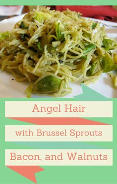 While at Walt Disney World in Orlando, Florida for the International Food and Wine Festival, Michael Symon was inspired to make an angelic dish; Angel Hair with Brussel Sprouts, Bacon, and Walnuts.
