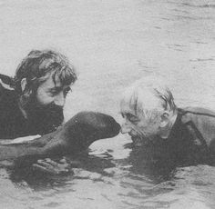 Jacques Cousteau Captured our Oceans on Film to Bring Conservation of our Oceans into the Forefront. Keep our Oceans Free of Pollution. Thank you Jacques Cousteau.