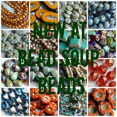 BeadSoup: New Stock At Bead Soup Beads