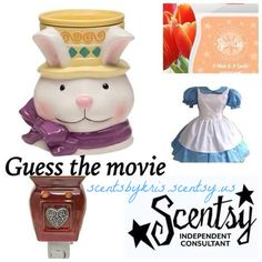 Guess the Movie Scentsy Party Game: Alice in Wonderland #scentsbykris
