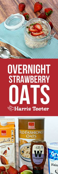 Dessert for breakfast! Without the guilt? And no cooking! Yes please! Loaded with fresh strawberries, this recipe for Strawberry Shortcake Overnight Oats will quickly become a family favorite.