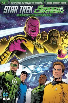Star Trek/Green Lantern Vol 2 #1 #IDW @idwpublishing #DC @dccocmics #StarTrek #GreenLantern Release Date: 12/21/2016