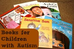 Books for children with #Autism or #Aspergers.  These aren't just for kids with #autism spectrum disorder but can be used to help other children understand what ASD is.