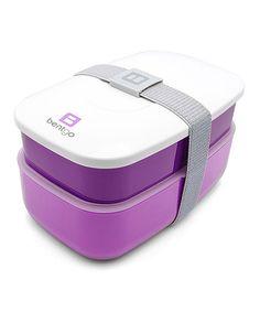 Another great find on #zulily! Purple Bento Box by Bentgo #zulilyfinds
