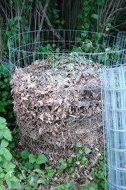 Bovengrondse composthoop van kippengaas. Compost, Outdoor Structures, Lawn And Garden, Balcony, Composters