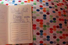 lazy explorers: DIY: Travel Journal, fun prompts