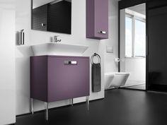 Zestaw łazienkowy, dostępny w 3 kolorach. Zaprojektowana przez Antonio Bullo seria zapewnia funkcjonalność i optymalne wykorzystanie przestrzeni.