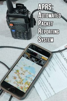 Introduction to APRS- the Automated Packet Reporting System The Automated Packet Reporting Service is a digital real time communications system to share tactical information and messages. Emergency Radio, Emergency Preparedness, Mobile Ham Radio, Ham Radio Antenna, Communication System, Radio Frequency, Two Way Radio, Energy Technology, Electronics Projects