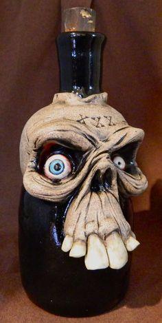 Another Skull Poison Bottle by thebigduluth on deviantART