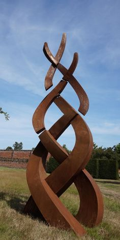#Steel #sculpture by #sculptor Will Carr titled: 'Serenity Wind sculpture'. #WillCarr