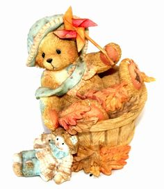CHERISHED TEDDIES 141313 PAT FALLING FOR YOU 1995 LIMITED EDITION P. HILLMAN!! | eBay
