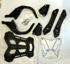 KTM 1190 Adventure R rear rack and luggage mounts factory motorcycle #KTM