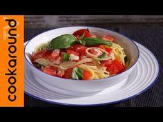 Vermicelli alla napoletana   Ricette estive veloci - YouTube