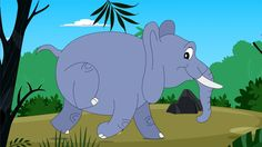 Cartoon of the kids song: The Elephant. Well you can tell me what you want but the elephant, he has the biggest bottom in the whole wide land… LYRICS THE ELE. Kids Dance Songs, Just Dance Kids, Music For Kids, English Activities, Toddler Activities, Elmer The Elephants, Kindergarten Music, Science Projects, Zoo Animals
