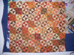 "Fall Quilt - ""Awesome"" Fabric FQ Bundle"