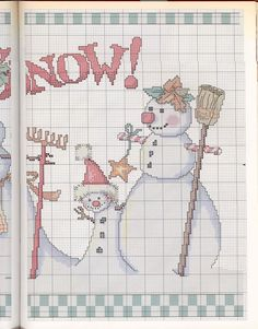 Gallery.ru / Фото #76 - Mary Engelbreit Cross Stitch - 777m (1683x2150) -- Let it snow