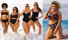 #All shapes #All sizes #Everyone can look great! Robyn Lawley and Gabi Gregg star in showstopping new swimsuit calendar.  See smithstyling.webs.com