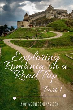 Winding Road to the Rasnov citadel. Traveling to different countries made us realise that we haven't visited our own country that much so we decided it is time to be tourists in Romania.