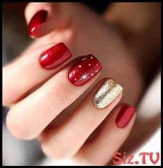 New Summer Nail Color for Beauty In 2019 - purple Acrylic short square nails design for summer nails, french manicures, short nails design, ac - Christmas Gel Nails, Christmas Nail Art Designs, Winter Nail Designs, Holiday Nails, Diy Christmas, Nail Ideas For Winter, Christmas Cookies, Bohemian Christmas, Summer Christmas
