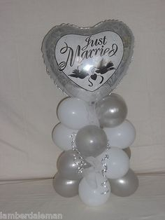 WEDDING BALLOON TABLE CENTRE PIECE DECORATION DISPLAY