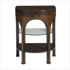 Crestaire Alexander Telephone Table with Demilune Glass Shelf & Touch Lighting by Stanley Furniture at Belfort Furniture Stanley Furniture, Table, Belfort Furniture, Florida Furniture, Modern Table, Modern Accent Tables, Furniture Sale, Furniture, Telephone Table