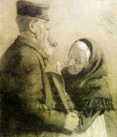 Angelo Morbelli (1853-1919) - Repair #TuscanyAgriturismoGiratola