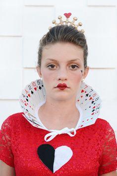 Alice in Wonderland Halloween Costumes for Siblings - The Queen of Hearts