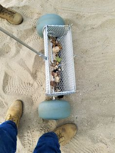 Excellent for Volleyball courts, cleaning and grooming volleyball court sand. Will be available exclusively at CleanSands, Inc. Sand Volleyball Court, Beach Clean Up, Outdoor Stairs, Cleaning Equipment, Metal Detecting, Tools, Graduation Year, Sharks, Teeth